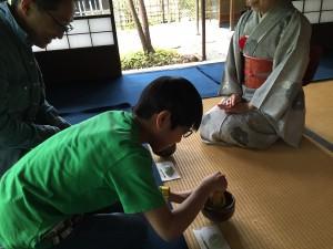 金沢 抹茶体験